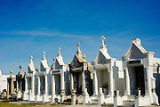 An above ground cemetery in New Orleans, Louisiana.