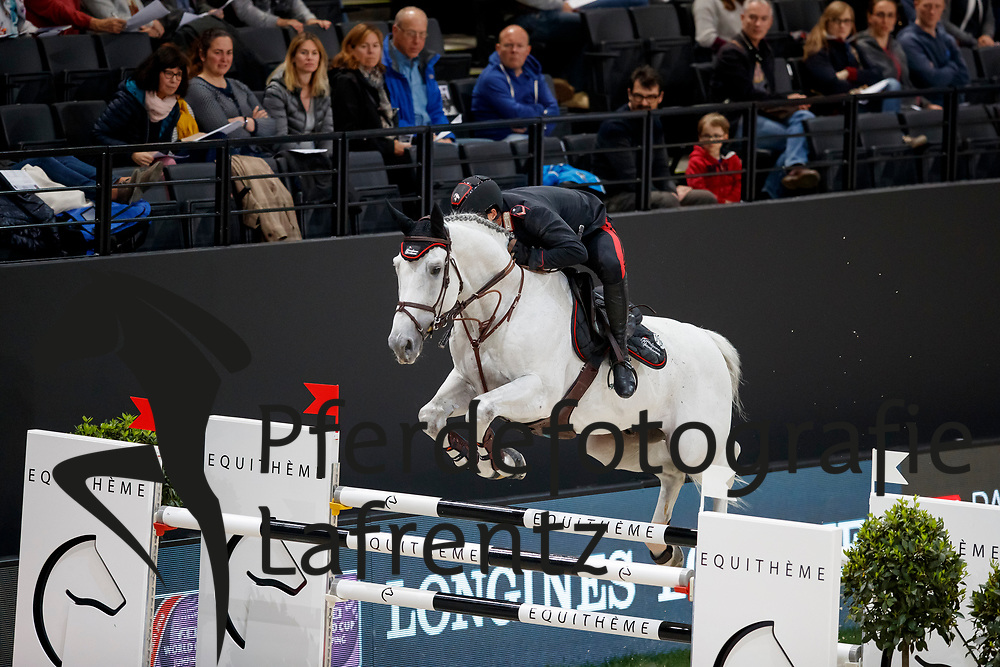 GAUDIANO Emanuele (ITA), Caspar 232<br /> Paris - FEI World Cup Finals 2018<br /> Grand Prix / Grosser Preis<br /> www.sportfotos-lafrentz.de/Stefan Lafrentz<br /> 15. April 2018