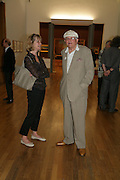 Patricia Lancaster and David Hockney, Hockney on Turner Watercolours, Tate Britain  Clore Galleries. London. 12 June 2007.  -DO NOT ARCHIVE-© Copyright Photograph by Dafydd Jones. 248 Clapham Rd. London SW9 0PZ. Tel 0207 820 0771. www.dafjones.com.