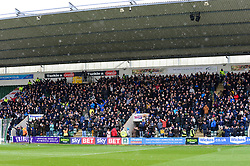 Bristol Rovers fans at Home Park, Plymouth Argyle - Mandatory by-line: Dougie Allward/JMP - 17/03/2018 - FOOTBALL - Home Park - Plymouth, England - Plymouth Argyle v Bristol Rovers - Sky Bet League One
