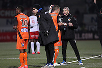 Anthony GONCALVES / Denis ZANKO  - 06.03.2015 - Nancy / Laval - 27eme journee de Ligue 2 <br />