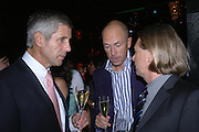 Stuart  Rose, Dylan Jones and Steven Sharp. Marks and Spencer celebrate the launch of the new men's Autograph collection. Fifty Below. 50 St. James's St. London. SW1. 7 September 2005. ONE TIME USE ONLY - DO NOT ARCHIVE  © Copyright Photograph by Dafydd Jones 66 Stockwell Park Rd. London SW9 0DA Tel 020 7733 0108 www.dafjones.com