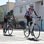 El Tour de Tucson 2017 finishers on 6th Avenue. Bike-tography by Martha Retallick.