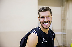 Goran Dragic of Slovenia during practice session of Slovenian National team 1 day prior to the basketball match between National Teams of Slovenia and Ukraine in Round of 16 of the FIBA EuroBasket 2017, at Ahmet Cömert Sports Hall in Istanbul, Turkey on September 8, 2017. Photo by Vid Ponikvar / Sportida