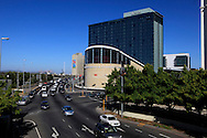 The convention center in the Harbour area of Cape Town South Africa,  Photo by Dennis Brack...