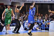 Suggs Scott, Dino Segnetti, Randle Brian, D'Ercole Lorenzo<br /> Happycasa Basket Brindisi - Sidigas Avellino<br /> Legabasket serieA 2017-2018<br /> Brindisi , 15/11/2017<br /> Foto Ciamillo-Castoria/ M.Longo
