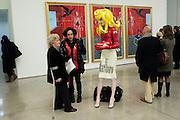 HELEN MARK; PHILIP SALLON; PANDEMONIA, Nothing Matters. Damien Hirst exhibition. White Cube. Mason's Yard. London. 24 November 2009