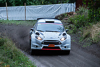 2019-09-07 | Linköping, Sweden: Kjell Sandberg / Stefan Ahl during East Rally Sweden / Rally SM in Linköping ( Photo by: Simon Holmgren | Swe Press Photo )<br /> <br /> Keywords: Linköping, Linköping, Rally, East Rally Sweden / Rally SM, ,