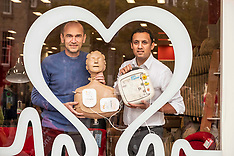 Launch of proposed bill requiring defibrillators to be registered, Edinburgh, 10 October 2019