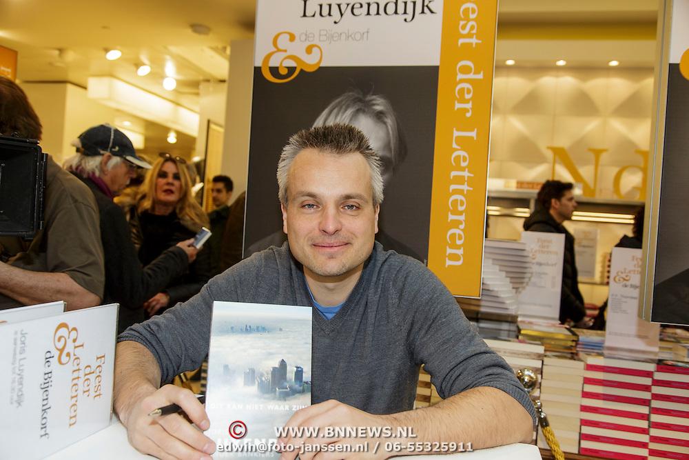 NLD/Amsterdam/20150228 - Feest der Letteren 2015, Joris Luyendijk