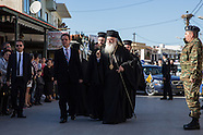 Greek orthodox rally on Lesvos