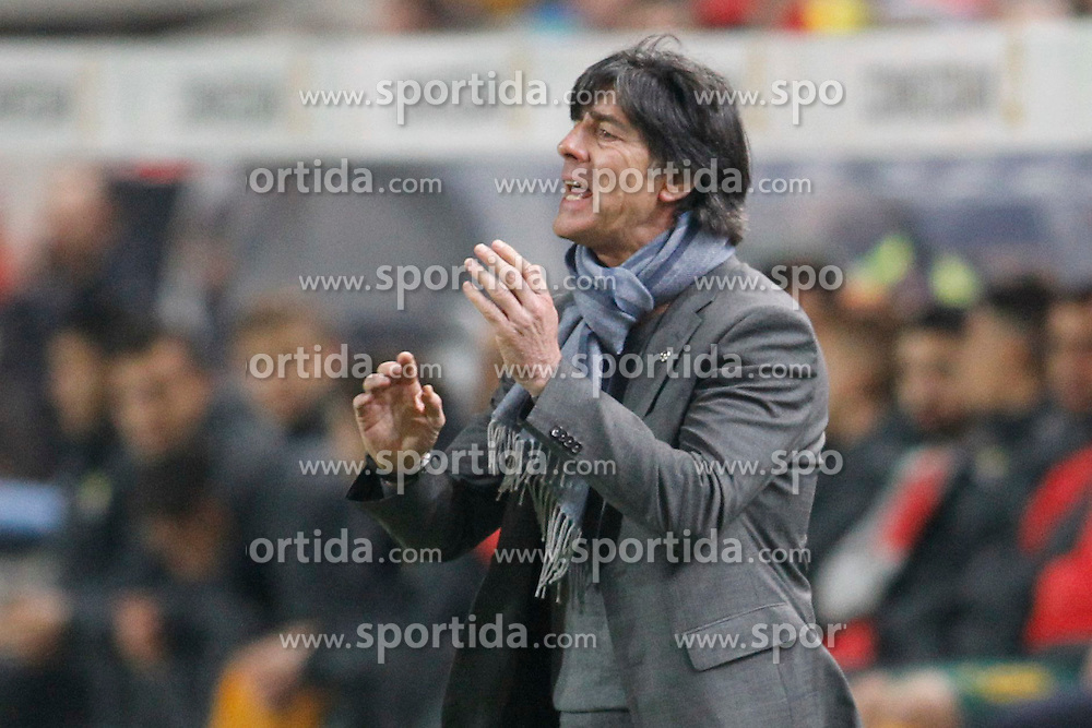 25.03.2015, Fritz Walter Stadion, Kaiserslautern, GER, FS Vorbereitung, Deutschland vs Australien, DFB L&auml;nderspiel, im Bild National-, Bundestrainer Joachim &quot;Jogi&quot; Loew // during the international frindly football macht between Germany and Australia at the Fritz Walter Stadion in Kaiserslautern, Germany on 2015/03/25. EXPA Pictures &copy; 2015, PhotoCredit: EXPA/ Eibner-Pressefoto/ Sch&uuml;ler<br /> <br /> *****ATTENTION - OUT of GER*****