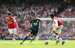 Jack Cork of Burnley runs at the Arsenal defence - Mandatory by-line: Arron Gent/JMP - 17/08/2019 - FOOTBALL - Emirates Stadium - London, England - Arsenal v Burnley - Premier League