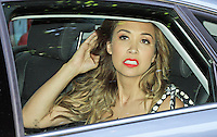 Myleene Klass, ITV Studios, London UK, 03 July 2014, Photo by Mike Webster