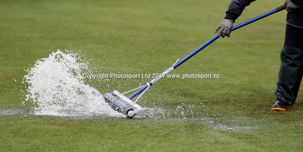 Water on the course. Final Round , McKayson NZ Women's Open 2017. LPGA Tour. Windross Farm, Auckland, New Zealand. Sunday 01 October, 2017. Copyright photo: John Cowpland / www.photosport.nz