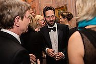 Actor Paul Rudd, center, attends the Bloomberg Vanity Fair White House Correspondents' Association dinner afterparty at the residence of the French Ambassador on Saturday, April 28, 2012 in Washington, DC. Brendan Hoffman for the New York Times
