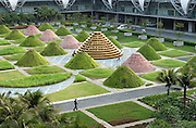 THAILAND: Bangkok<br /> Suvarnabhumi International Airport Terminal.<br /> Opened September 2006