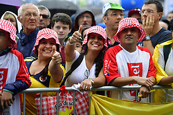 July 13, 2017 - Pau, France - Peyragudes, France - July 13 : Supporters Fans  during stage 12 of the 104th edition of the 2017 Tour de France cycling race, a stage of 214.5 kms between Pau and Peyragudes on July 13, 2017 in Peyragudes, France, 13/07/2017 (Credit Image: © Panoramic via ZUMA Press)