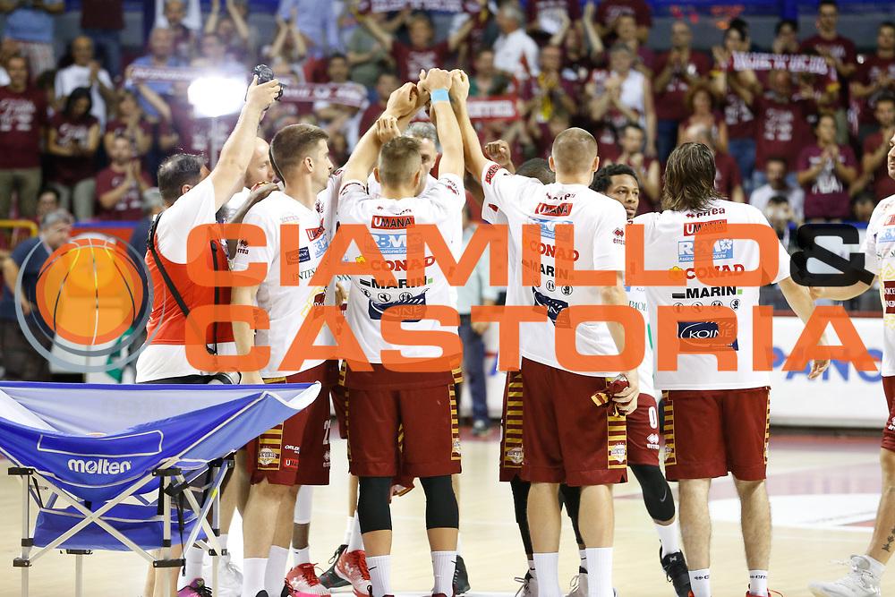 Umana Reyer Venezia<br /> Umana Reyer Venezia - Dolomiti Energia Aquila Basket Trento<br /> Lega Basket Serie A 2016/17 Finali Gara 02<br /> Venezia, 12/06/2017<br /> Foto Ciamillo-Castoria / M. Brondi