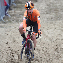 24-11-2019: Wielrennen: Wereldbeker Veldrijden: Koksijde<br />Shirin van Anrooij