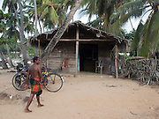 Sri Lanka, Ampara District, Arugam Bay, Pottuvil a small fishing village and popular surfing resort