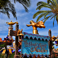 Magic Carpets of Aladdin in Adventureland at Magic Kingdom in Orlando, Florida<br />