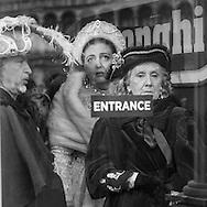 Italy. Venice Carnival. masked people on San Marco square / le Carnaval de Venise , sur la place Sain Marc