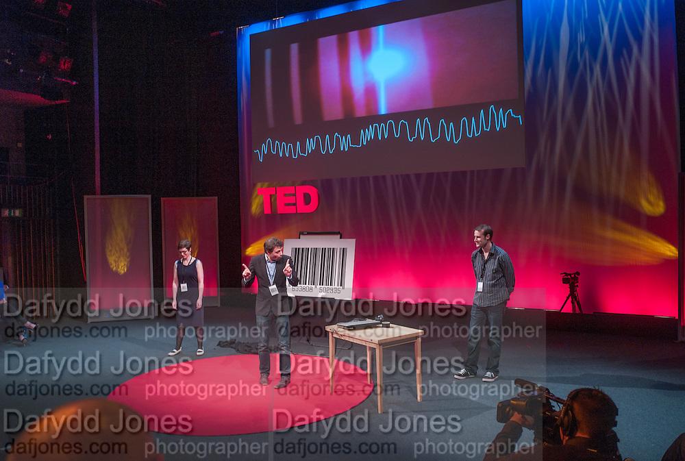 HELEN ARNEY; MATT PARKER; STEVE MOULD, UnSeen Narratives, Ted Salon, Unicorn Theatre, Tooley St. London. 10 May 2012.