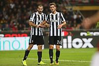 28.10.2017 - Milano - Serie A 2017/18 - 11a giornata  -  Milan-Juventus nella  foto: Giorgio Chiellini e Daniele Rugani