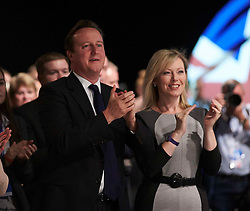 Prime Minister David Cameron and Ffyon Hague at the Conservative Party Conference, Manchester, United Kingdom. Sunday, 29th September 2013. Picture by i-Images