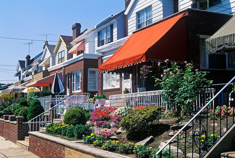 Row homes, Philadelphia, Pennsylvania