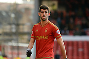 Goalscorer Nottingham Forest striker Nelson Castro Oliveira during the Sky Bet Championship match between Nottingham Forest and Bolton Wanderers at the City Ground, Nottingham, England on 16 January 2016. Photo by Alan Franklin.