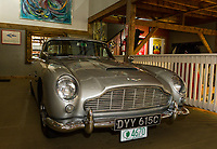 """This 1965 DB Aston Martin, also known as the """"James Bond"""" car, will be part of the antique car show for the Boys and Girls Club with Nick Grewal in July.  (Karen Bobotas/for the Laconia Daily Sun)"""