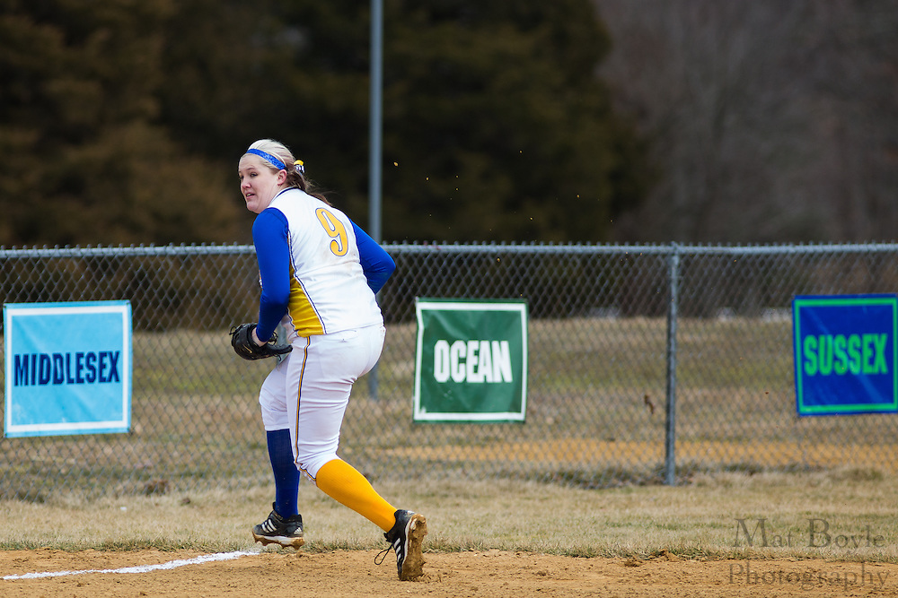 Morris County College Softball hosted by Gloucester County College at Gloucester County College in Sewell, NJ on Saturday March 2, 2013. (photo / Mat Boyle)