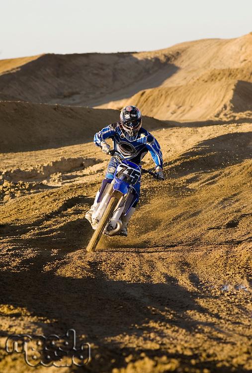 Motocross Racer Mid-Air