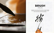 Calligraphy in China.<br />