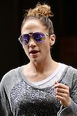 Jennifer Lopez seen in midtown Manhattan in New York City