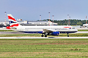 British Airways Airbus A320, Photographed at Malpensa airport, Milan, Italy