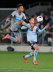 Dunedin - Football, Newcastle United v Sydney FC