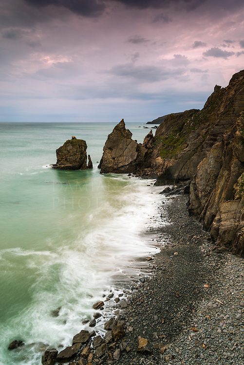 Stowe cliff rocks, Sandymouth, Cornwall, England