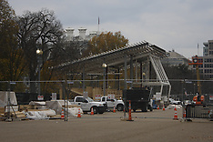 Colombia: Inauguration Day construction in DC has begun, 25 Nov. 2016