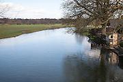 River Stour landscape of Dedham Vale, Essex, England