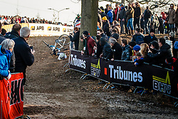 DE JONG Thalita (NED) during Women Elite race, UCI Cyclo-cross World Cup #8 at Hoogerheide, Noord-Brabant, The Netherlands, 22 January 2017. Photo by Pim Nijland / PelotonPhotos.com | All photos usage must carry mandatory copyright credit (Peloton Photos | Pim Nijland)