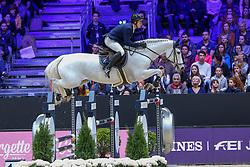 Balsinger Bryan, SUI, Clouzot de Lassus<br /> LONGINES FEI Jumping World Cup™ - Lyon 2019<br /> © Hippo Foto - Julien Counet<br /> 03/11/2019