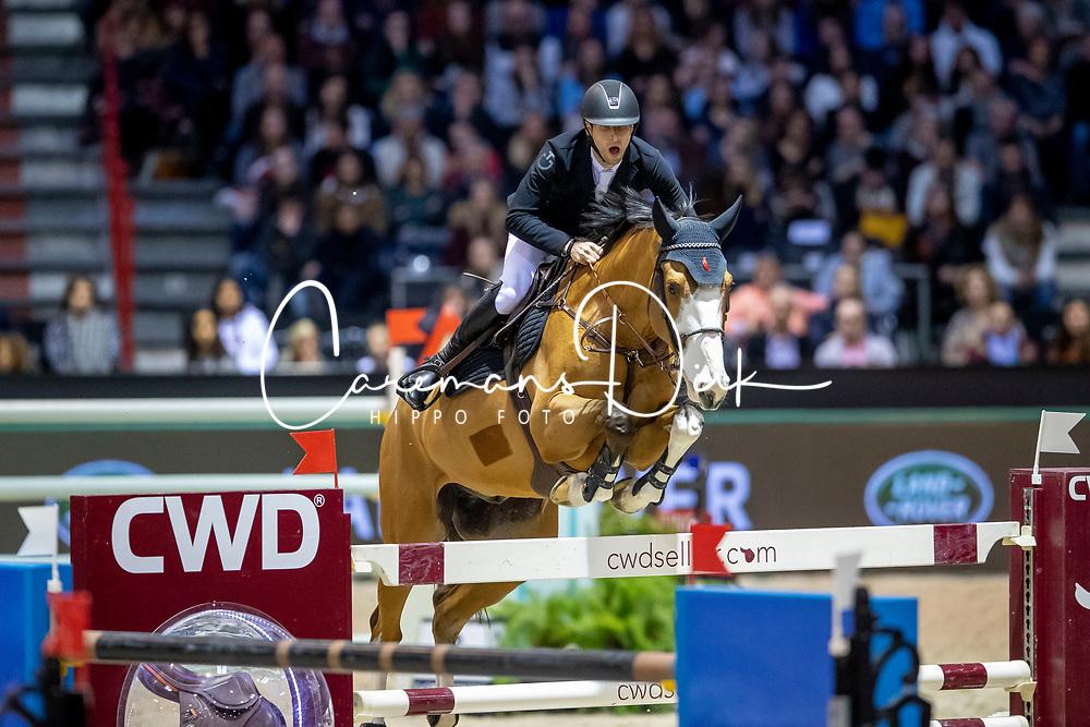 Devos Pieter, BEL, Carpe Diem DV Z<br /> Jumping International de Bordeaux 2020<br /> © Hippo Foto - Dirk Caremans<br />  08/02/2020