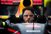 June 9-12, 2016: Canadian Grand Prix. Red Bull mechanic