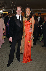 Sponsor of the ball RIK BRYAN and MISS MONIKA MUSKOVICH at the Diamonds Are Forever charity ball in aid of the Motor Neurone Disease Association and Cancer Research UK held at The Dorchester, Park Lane, London on 11th March 2006.<br /><br />NON EXCLUSIVE - WORLD RIGHTS