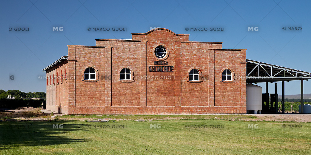 BODEGA ANDALHUE, VINOS ORGANICOS DE ALTA GAMA, UGARTECHE, PROVINCIA DE MENDOZA, ARGENTINA - PHOTO © MARCO GUOLI