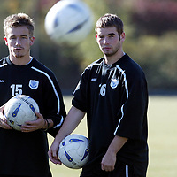 St Johnstone Training...26.09.03<br />