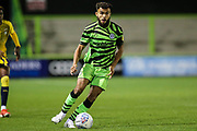 Forest Green Rovers Dominic Bernard(3) on the ball during the Leasing.com EFL Trophy match between Forest Green Rovers and Coventry City at the New Lawn, Forest Green, United Kingdom on 8 October 2019.